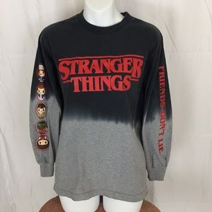 Stranger Things long sleeve graphic T-shirt